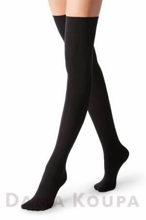 Μαύρες κάλτσες πάνω από το γόνατο