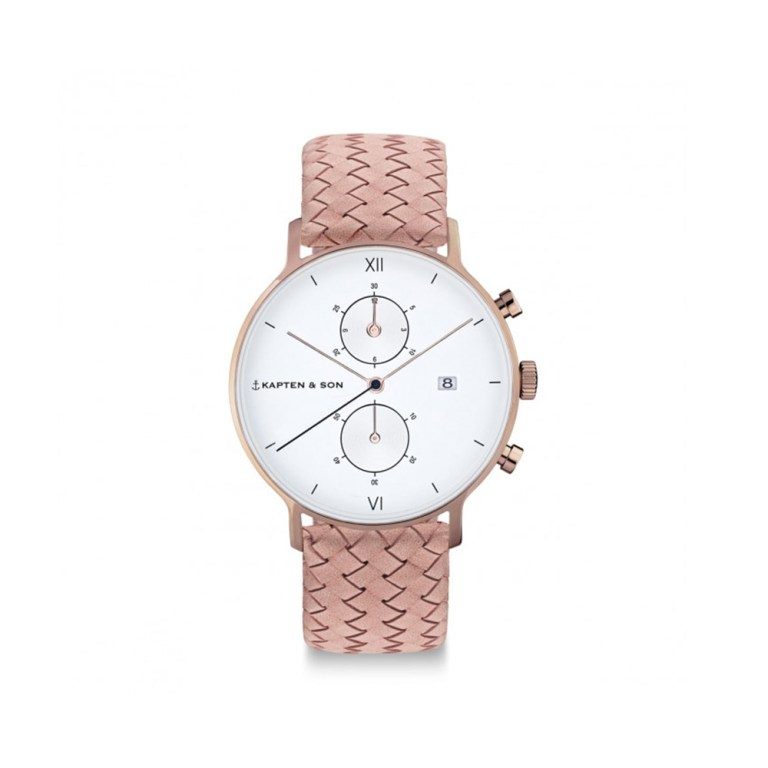 "KAPTEN & SON ""Rose Woven Leather"""