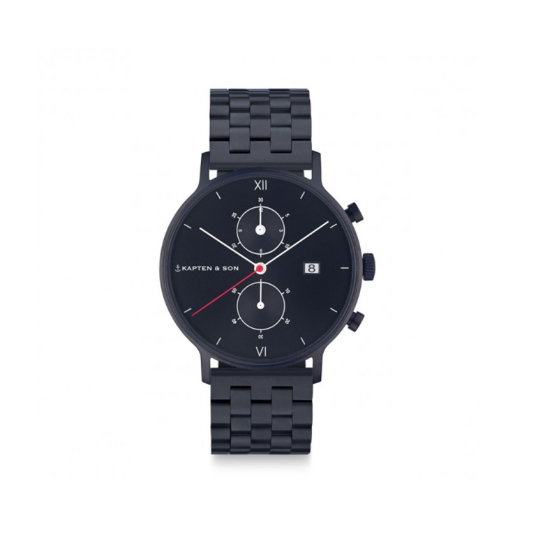 KAPTEN & SON Black Midnight Steel
