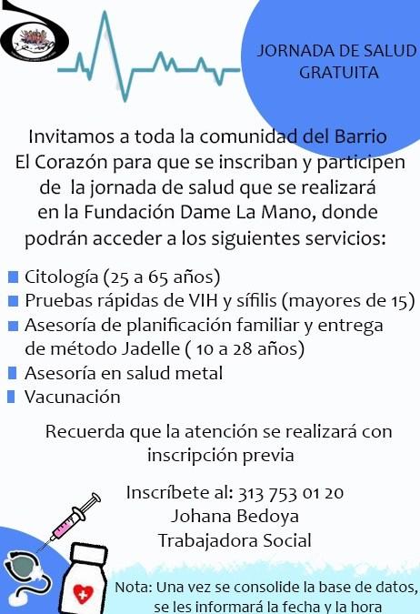 JORNADA DE SALUD GRATUITA
