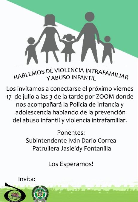 HABLEMOS DE VIOLENCIA INTRAFAMILIAR Y ABUSO INFANTIL