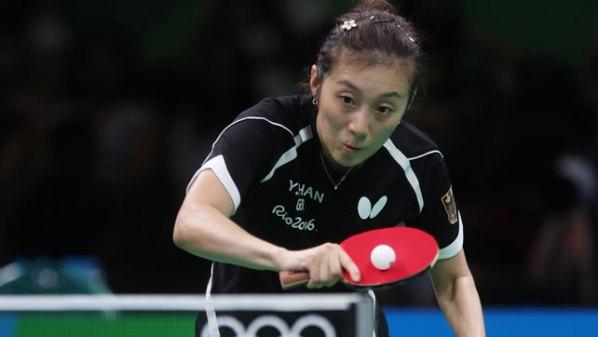 Olympische Spiele 2016: Han Ying, Deutschland | Damen Tischtennis-Bundesliga