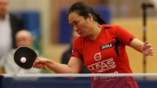 Ding Yaping, TTG Bingen/Münster-Sarmsheim | Damen Tischtennis-Bundesliga