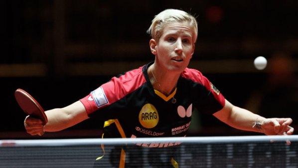 Liebherr Tischtennis-WM 2017: Kristin Silbereisen, Deutschland | Damen Tischtennis-Bundesliga ©Holger Straede