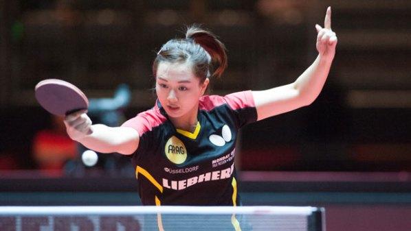 Yuan Wan, Deutschland   Damen Tischtennis-Bundesliga