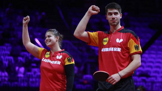 Mixed Franziska/Solja hat nach dramatischem Viertelfinale eine Medaille sicher