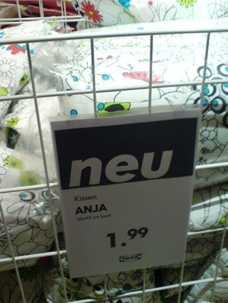 Kissen Anja