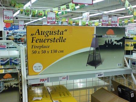 Feuerstelle Augusta