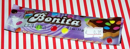 Schokoriegel Bonita