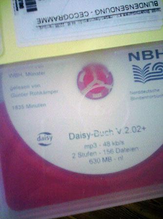 Blinden-CD Daisy