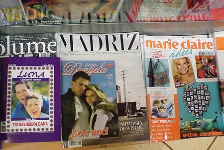 Zeitschriften Danjiela, Luna und Marie Claire