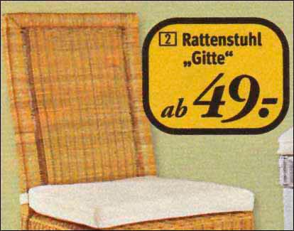 Stuhl Gitte
