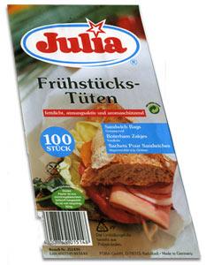 Frühstückstüten Julia