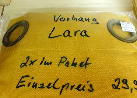 Vorhang Lara