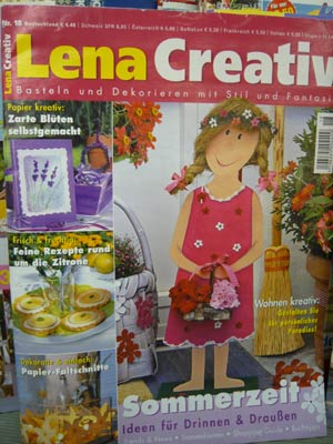 Crativ-Zeitschift Lena