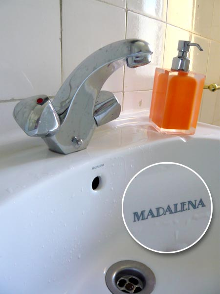 Waschbecken Madalena