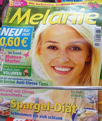 Zeitschrift Melanie