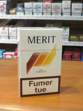 Zigaretten Merit