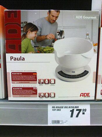 Waage Paula