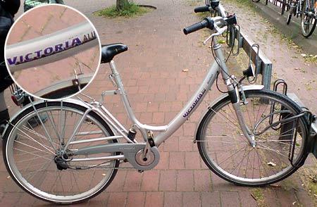 Fahrrad Victoria Alu