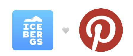 Icebergs joined Pinterest