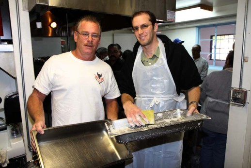 Ben and Terry volunteered and served Thanksgiving Dinner at the Salvation Army Corps.