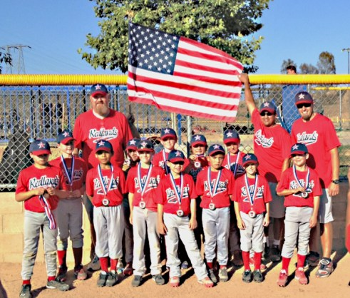 The Redlands Pinto 8 Red All-Stars
