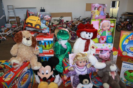 Toys for Distribution to needy children.