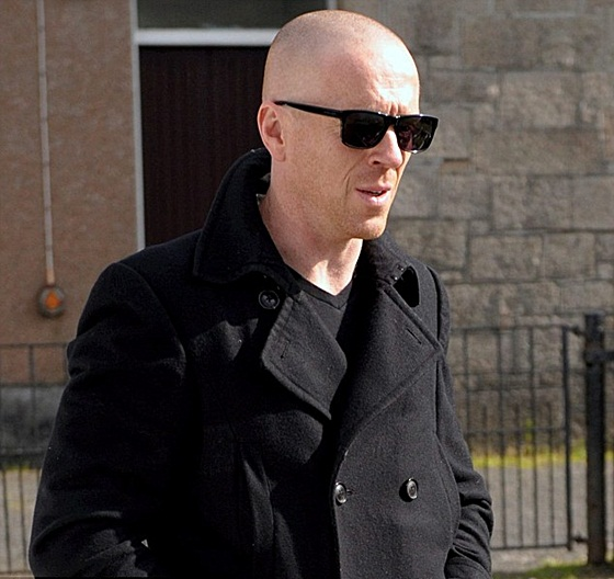 Damian Lewis goes bald for 'The Silent Storm'