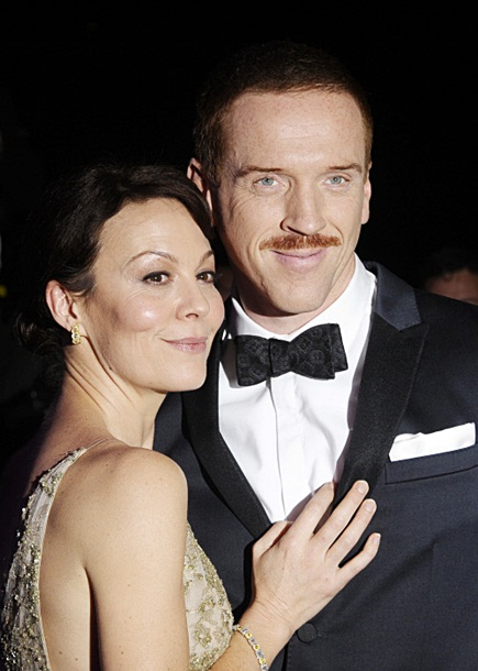 Damian Lewis and Helen McCrory at the Evening Standard Theatre Awards on November 17th