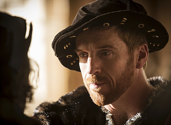 Damian Lewis as Henry VIII in episode 4 of 'Wolf Hall'