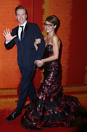 Damian and Helen at the HBO after party