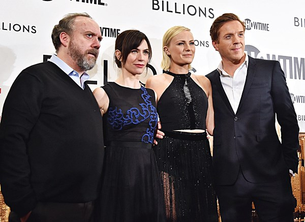 At the 'Billions' premiere