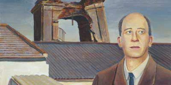 Corpus Barga en Belalcázar 1995 Óleo sobre madera 20 x 30 cm