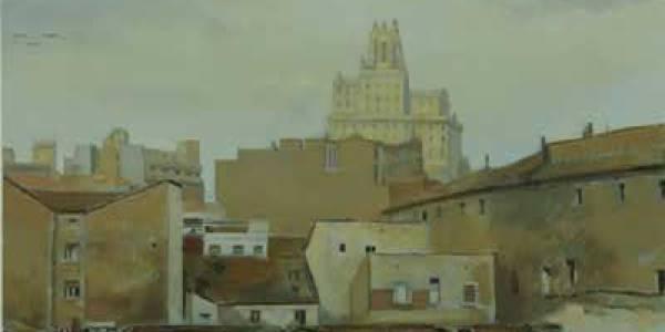 Noviembre, 1936, 2010, óleo/lienzo, 35×61 cm.