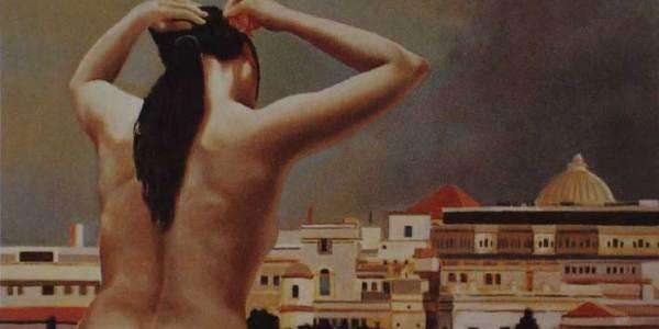 Desnuda en La Habana IV 25 x 41 Cm