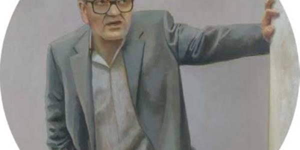 Julian Ayesta. 2008. Óleo sobre lienzo. 50 cm diám