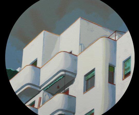 Edificios madrileños serigrafías