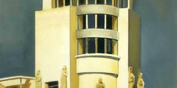 La Equitativa. 2005. Óleo sobre tabla. 30 x 30 cm