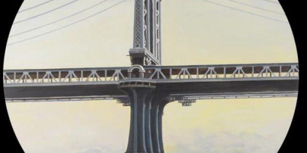 Puente de Manhattan. 2007. Óleo/madera. 75 x 75 cm