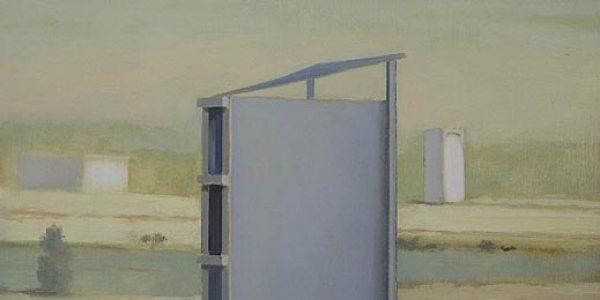 Casa Portela. Óleo/madera. 35 x 35 cm
