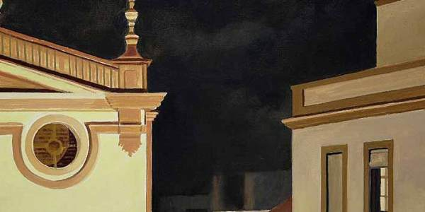 Noche de Santa Ana. Óleo/madera. 29 x 41cm