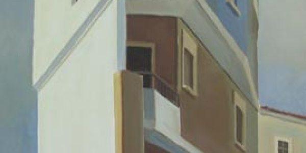 Rua da Gloria. Óleo/tela. 31×33 cm