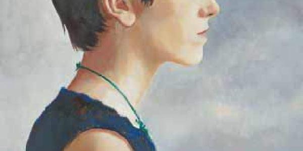 María 1995-2003 Óleo sobre madera 40 x 30 cm