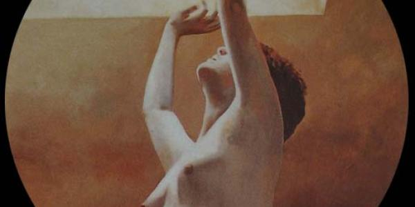 Desnudo del vacío I. 50 cm diam.