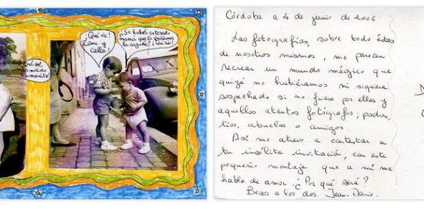 51ª POSTAL RECIBIDA JEAN MARIE