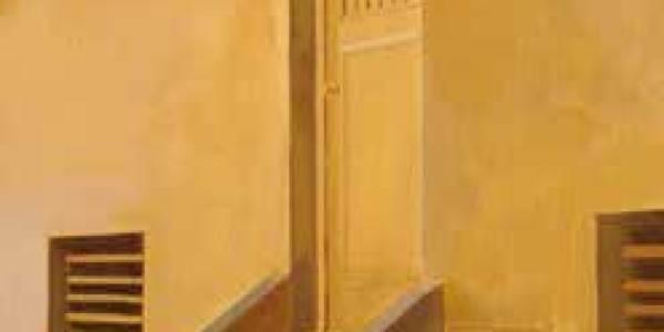 Casa Bergamín. 2008. Óleo/lienzo. 61×38 cm.