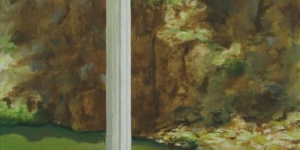 Casa de los Pájaros. Óleo/madera. 41×30 cm