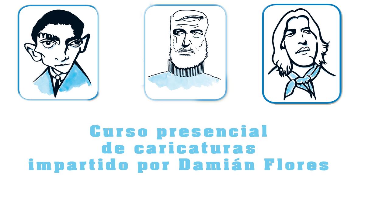 Curso presencial de caricaturas