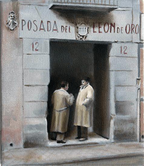 Los lugares de Ramón Gómez de la Serna (Posada del León de Oro)